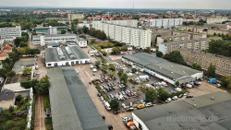 Großzügige Hallenflächen mit Sicherheitsdienst und Center Management vor Ort in Magdeburg