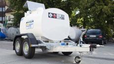 Dieseltankanhänger 950l Mobile Tankanlage IBC