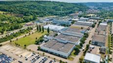 Großzügige Hallenflächen - teilweise mit Starkstrom und Wasseranschluss – in Heidenheim