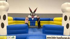 Hüpfburg BugsBunny in XXL günstig mieten in Kiel