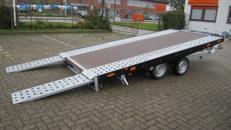 Autotrailer kippbar 3000 KG 100 kmh