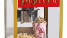 Popcornmaschine 8 OZ mit Unterwagen