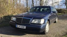 Hochzeitsauto, Mercedes S 420 L Youngtimer, Langversion