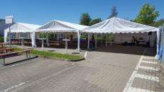 18m x 12m Zelt - Partyzelt - Eventzelt - Festzelt