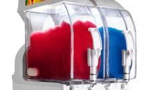 Slush Eis Maschine und Zubehör