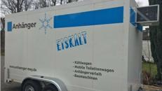 Kühlanhänger Kühl Anhänger zu vermieten diverse Größen verfügbar