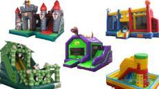 XXL Hüpfburgen zur Miete! Alles für das perfekte Kinderfest schnell und unkompliziert reservieren.