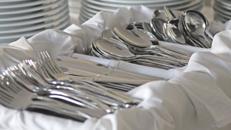 Besteck Messer Gabel Löffel Kuchengabel