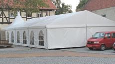 Festzelt Zelt Partyzelt mit Boden 10x20 Meter (200qm ) vom Zeltverleih Zeltvermietung