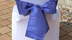 Stuhlschleife Schleife Schleifenband für Husse Stuhlhusse in verschiedenen Farben Hussenschleife