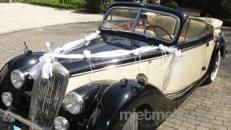 Hochzeitsauto Oldtimer mit Chauffeur Cabrio Hochzeitsfahrt