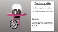 Zuckerwattemaschine mieten - Zuckerwatte Kinderfest