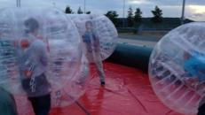 Bubble Soccer incl. Umrandung