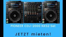 Pioneer Nexus 2 Set CDJ-2000 NXS2 + DJM-900 NXS2 DJ-Mischpult