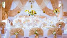 Hochzeitsdekoration. Der komplette Dekorationservice. Verleihservice