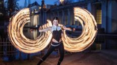 Spherina - Feuershow und LED Lichtshow voller Eleganz