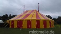 Zirkuszelt / Circuszelt 24m mit 2 Masten