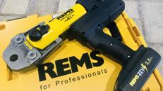 Presszange RadialPresse REMS ACC 22V Akku Fittingpresse Rohrpresse Rohr Presse
