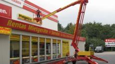 Hubarbeitsbühne 17 m inkl. Vers., Arbeitsbühne, Anhängerbühne, Hubsteiger, Steiger