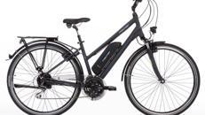 DIVA Elektrofahrrad Damen - E-Bike Trekking 28 Zoll – 24 Gang – 100 km Reichweite