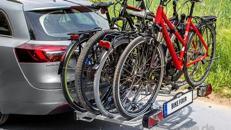 Fahrradträger passend für 4 Fahrräder - 70 kg Traglast