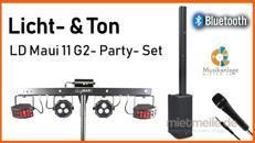PA- / Musikanlage mieten - inkl. Bluetooth & Licht für ca. 120 Personen