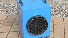 Elektroheizer Heizer E-Heizer Heizlüfter Heizgebläse Baustellenheizung Heizung Trotec TDE 95