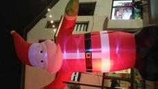 Weihnachtsmann 6m hoch aufblasbar