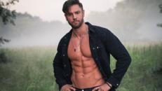 Sexy Stripper GEEORGE STEEL ... starke Muskeln