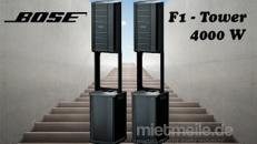 BOSE F1 Tower - 4000 W für ca. 1000 Personen