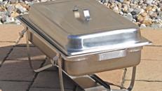 Chafing Dish Speisenwärmer Warmhaltebehälter Wärmebehälter Buffet Büfett
