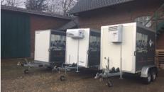Kühlwagen / Kühlanhänger zu vermieten!