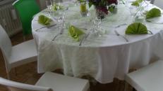 Out- und indoorstuhl weiß