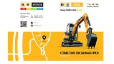 Baumaschinen Vermietung /Bagger Mieten/mieten/leihen /Bagger