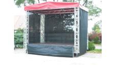 Bühne – 12m² für kleine Stadtfest, Kundgebung, Präsentation, Roadshow, Events, Promotion u. Kampagne