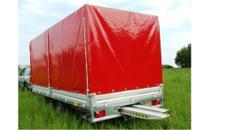 AXA Car Geschlossener 5 m PKW Transportanhänger 3500 kg Planenanhänger Hochlader  100 km/h