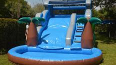 Wasserrutsche XXL oder Wasserrutschbahn XXL mieten