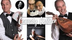 Comedy-Kellner (falsche, lustige Show-Kellner)