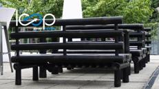 Loungemöbel-SET BAMBOO // Couch // Ecke // Hocker // Tisch