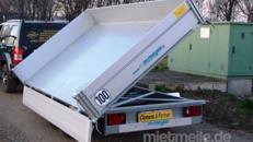 Walter´s Surprise  (Doppelachser)  Dreiseitenkipper Hochlader 3000 kg gebremst E-Pumpe + Handpumpe 100 km/h