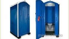 Miet-WC / Baustellentoilette / Mobiltoilette / Miettoilette / Toilettenkabine / Bauklo / mobile Toilette / Baustellen WC
