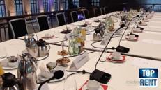 Konferenzsystem für Ratssitzungen, Konferenzen, Pressekonferenzen