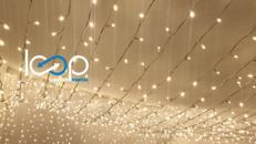 LED PRO-system CURTAIN // Vorhang // erweiterbar // Deko // Gartenbeleuchtung // Weihnachtsbeleuchtung // Party // Hochzeit