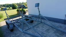 Bootstrailer 2t für Segelboot