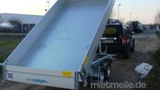 Walter´s Surprise II (Doppelachser)  Dreiseitenkipper Hochlader 3000 kg gebremst E-Pumpe + Handpumpe 100 km/h