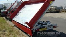 Königsvan  (Dreiachser Luxusversion)  Dreiseitenkipper Dreiachser Hochlader 3500 kg gebremst E-Pumpe + Handpumpe – H-Gestell – Ladeflächenbeleuchtung – Alufelgen – Kurbelstützen –
