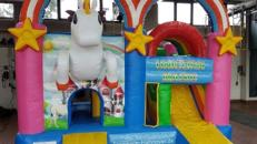Hüpfburg Multiplay Einhorn Unicorn