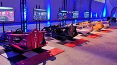 Cockpit Rennsimulator Formel 1 komplett inkl. Begleitung