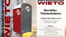 Baustellen Toilettenkabine