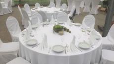 Bankett-Tisch rund 1,80m